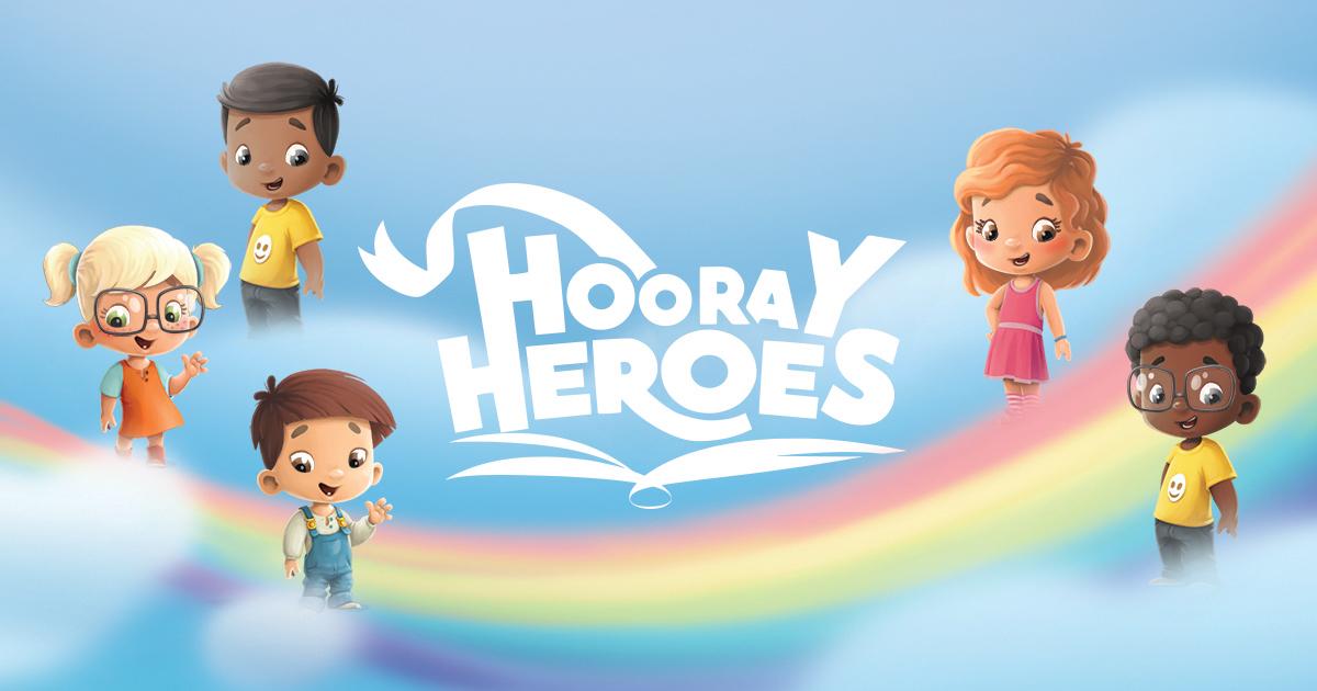 Hooray Heroes - All Seasons Personalized Coloring Book